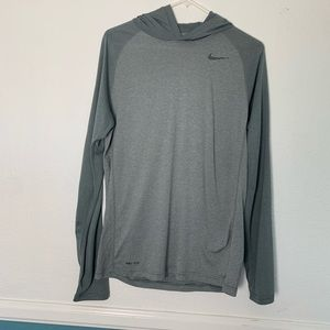 Nike Men's long sleeve Dri-fit hoodie size M